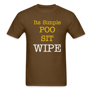 Its Simple - Men's T-Shirt