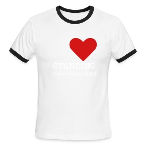 I Love Standing - Men's Ringer T-Shirt