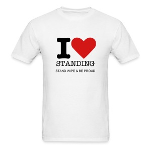 I Love Standing - Men's T-Shirt