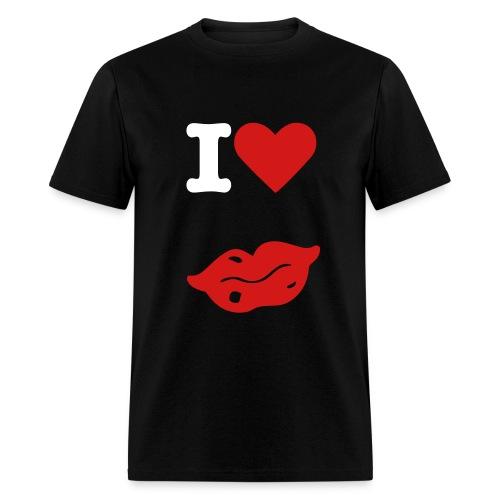 I Love Lips - Men's T-Shirt