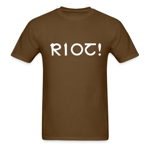 RIO! Black Logo - Men's T-Shirt