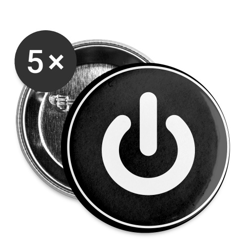 Power Buttons - Buttons small 1'' (5-pack)