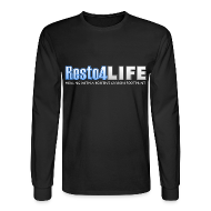 Long Sleeve Shirts ~ Men's Long Sleeve T-Shirt ~ Resto4Life Logo