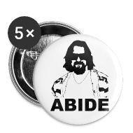 Buttons ~ Large Buttons ~ ABIDE Button (5 pack)