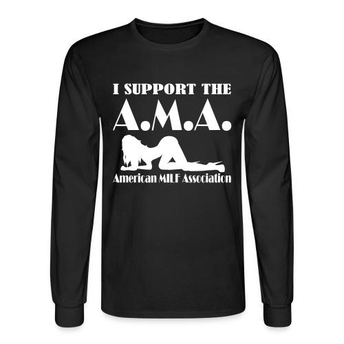 A.M.A. (Men) - Men's Long Sleeve T-Shirt