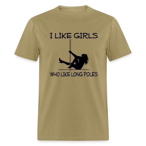 Long Poles (Men) - Men's T-Shirt