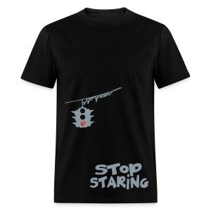 Stop Staring - Men's T-Shirt