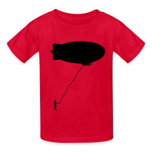 Writeable Blimp - Kids' T-Shirt