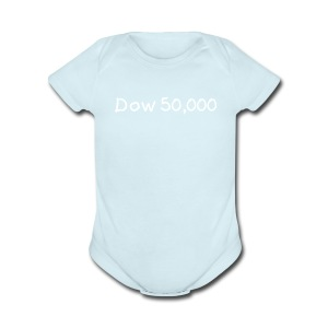Dow 50,000 (Boys) - Short Sleeve Baby Bodysuit