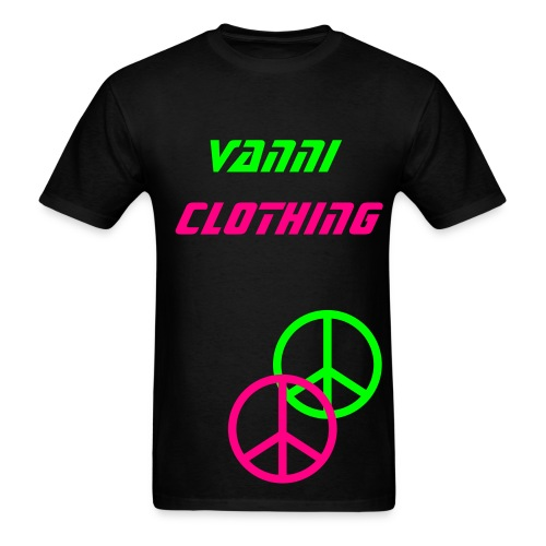 Vanni Supports Peace - Men's T-Shirt