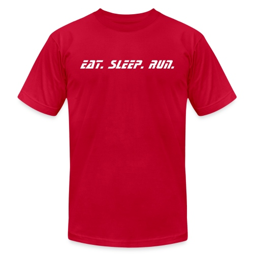 Eat Sleep Run - Men's Fine Jersey T-Shirt