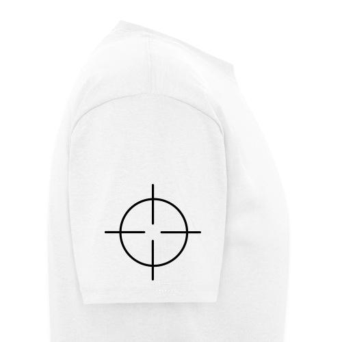 RIFLE SIGHT ON SHOULDERS - Men's T-Shirt