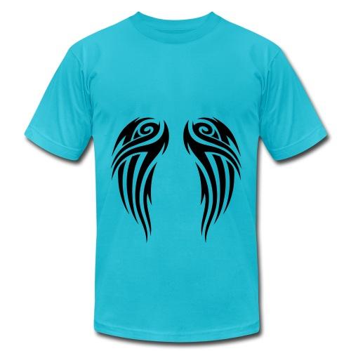 tribal wings T-Shirt - Men's Fine Jersey T-Shirt