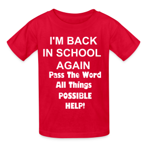Pass the word! - Kids' T-Shirt