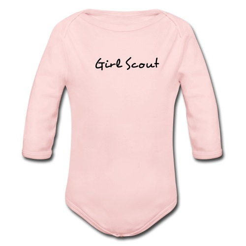 Girl Scout One size - Organic Long Sleeve Baby Bodysuit