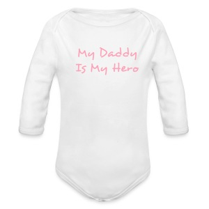 Hero One size - Long Sleeve Baby Bodysuit