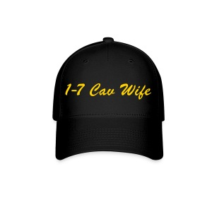 Black/Yellow Baseball Wife - Baseball Cap