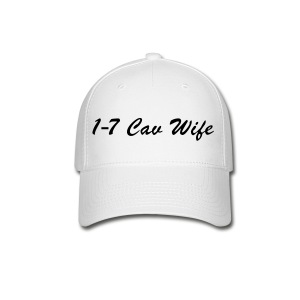 White/Black Baseball Wife - Baseball Cap