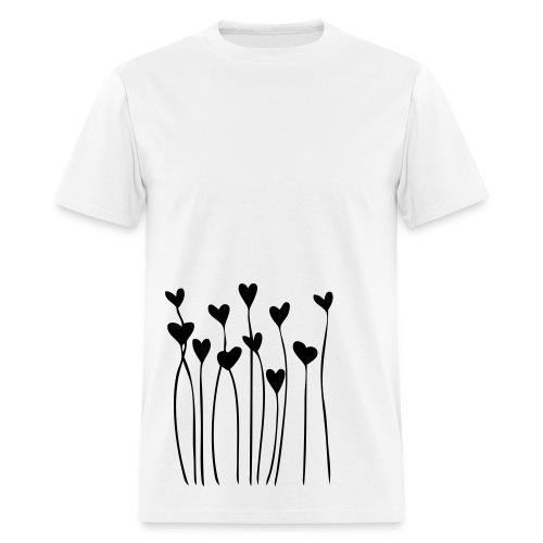 heart strings. - Men's T-Shirt