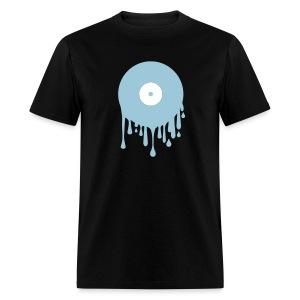 Melting Record - Men's T-Shirt