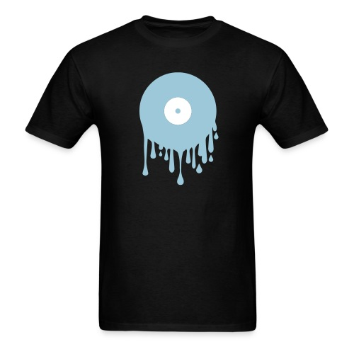 Melting Record - Men's T-Shirt