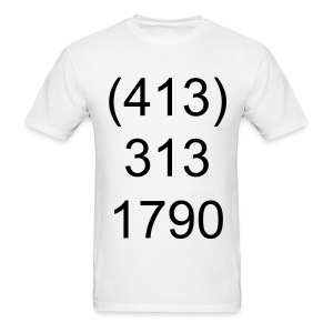 My Number - Men's T-Shirt