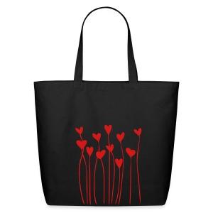 Bleeding Hearts Cloth Bag - Eco-Friendly Cotton Tote