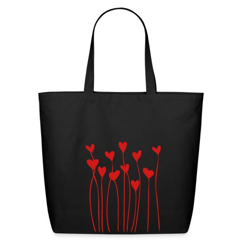 Bleeding Hearts Cloth Bag - Eco-Friendly Cotton Tote
