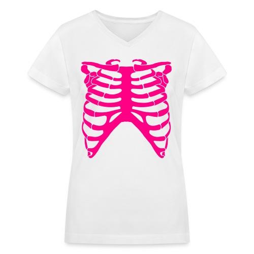 X-Ray - Women's V-Neck T-Shirt