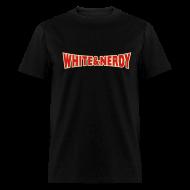 T-Shirts ~ Men's T-Shirt ~ WHITE AND NERDY T-Shirt