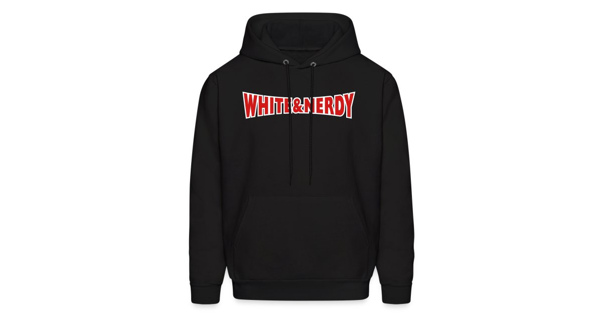White and nerdy sweatshirt-7181