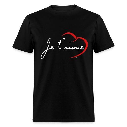 Je t'aime - Men's - Men's T-Shirt