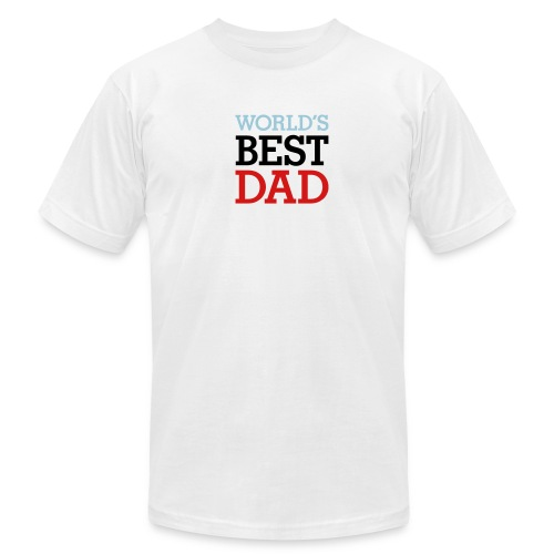 World's Best Dad - Men's Fine Jersey T-Shirt