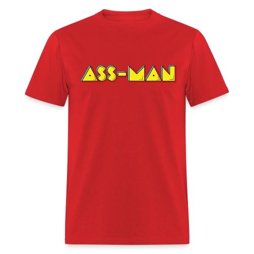 Ass-Man (Men) - Men's T-Shirt