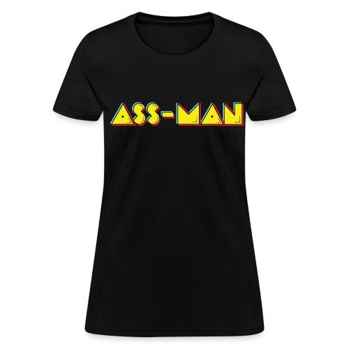 Ass-Man (Women) - Women's T-Shirt
