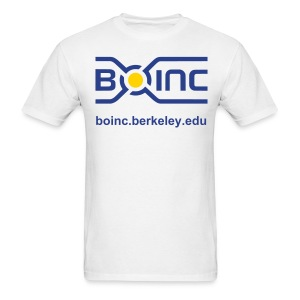 Men's BOINC T-Shirt with URL - Men's T-Shirt