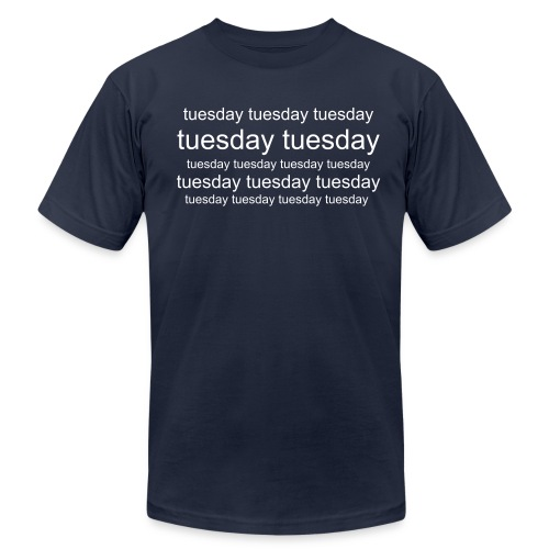 Tuesday T - Men's  Jersey T-Shirt