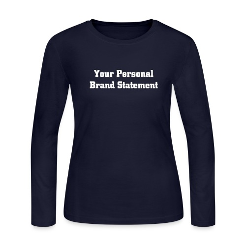 Customized Long Sleeve  - Women's Long Sleeve Jersey T-Shirt