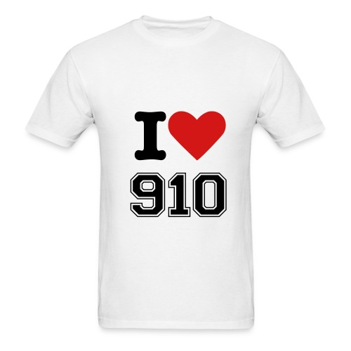 I Heart 910 - Men's T-Shirt