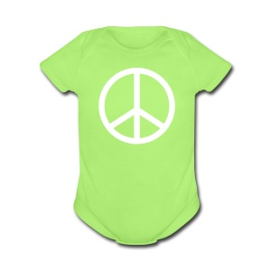 short sleeve one size - Short Sleeve Baby Bodysuit