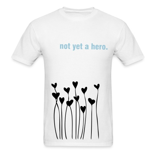 Girly Love Flowers - Men's T-Shirt