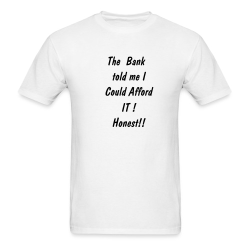 The Bank - Men's T-Shirt