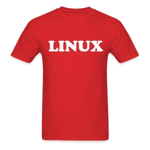 LINUX - Men's T-Shirt