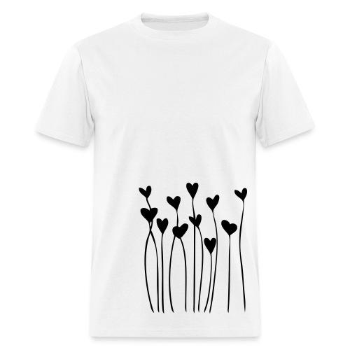 Black Hearts - Men's T-Shirt