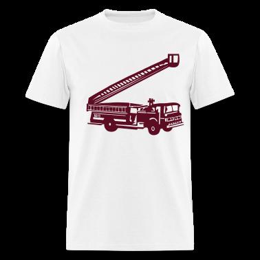 White Fire Department - Fire Engine - Firefighter T-Shirts (Short sleeve)