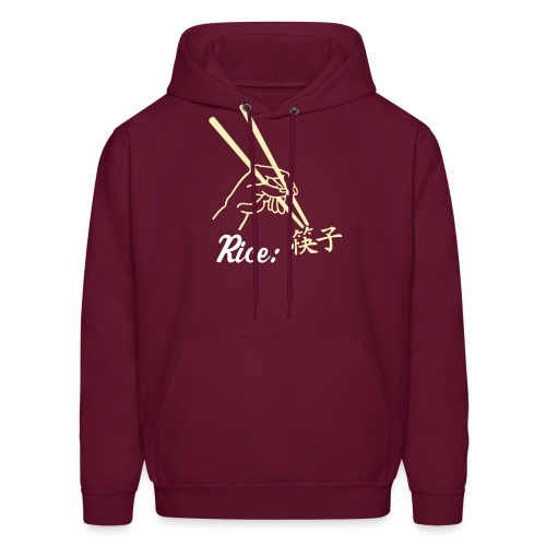Rice: It's what's for dinner! - Men's Hoodie