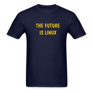 THE FUTURE IS LINUX - Men's T-Shirt
