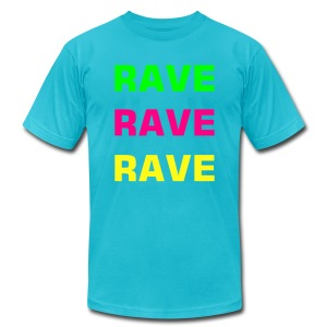 Rave X3 - Men's T-Shirt by American Apparel