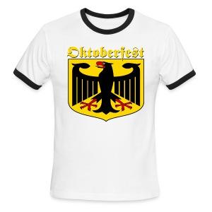 German Oktoberfest - Men's Ringer T-Shirt