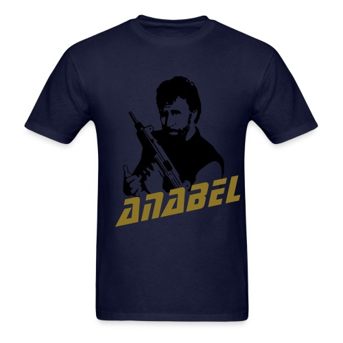 Chuck Norris Gold foil - Men's T-Shirt
